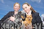 Jesica Harris and Clodagh Landy Listowel at the kingdom county fair at Ballybeggan park, Tralee on Sunday.