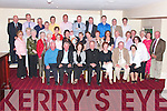 Fr. John Kennelly, from Ballylongford seated centre celebrated his retirement as parish priest of Causeway with his extended family in the Listowel Arms Hotel on Friday night.... ..   Copyright Kerry's Eye 2008