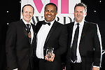 © Joel Goodman - 07973 332324 . 02/03/2017 . Manchester , UK . Law Firm of the Year – Large (20+ partners) - Shoosmiths . The Manchester Legal Awards at the Midland Hotel . Photo credit : Joel Goodman