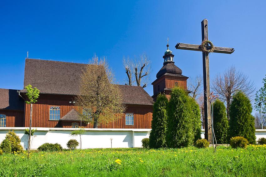 Koci&oacute;ł św. Erazma w Barwałdzie Dolnym.<br /> The Parish Church of St. Erasmus in Barwald Dolny.