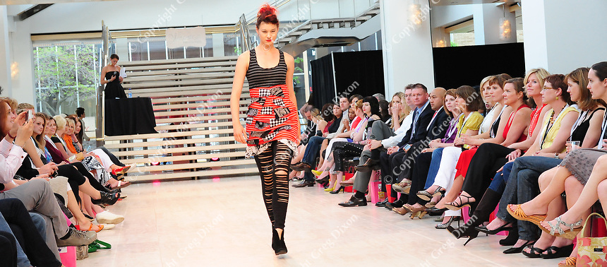 Maverick Clothing is modeled at the runway show of Wisconsin Fashion Week at the Overture Center