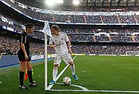 Real Madrid CF's Luka Modric talks to assistant referee during La Liga match. Feb 01, 2020. (ALTERPHOTOS/Manu R.B.)<br /> 01/02/2020 <br /> Liga Spagna 2019/2020 <br /> Real Madrid - Atletico Madrid  <br /> Foto Alterphotos / Insidefoto <br /> ITALY ONLY