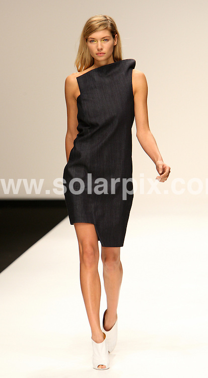 **ALL ROUND PICTURES FROM SOLARPIX.COM**                                             **WORLDWIDE SYNDICATION RIGHTS**                                                                                  Caption: The Osman catwalk runway show as part of London Fashion Week 2010. London, UK. 18 September 2010 This pic: Osman catwalk show                                                                                          JOB REF:  12158 MLW       DATE: 18_09_2010                                                           **MUST CREDIT SOLARPIX.COM OR DOUBLE FEE WILL BE CHARGED**                                                                      **MUST AGREE FEE BEFORE ONLINE USAGE**                               **CALL US ON: +34 952 811 768 or LOW RATE FROM UK 0844 617 7637**