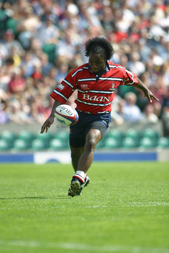 Photo: Jo Caird..Gloucester v London Wasps. Zurich Premiership Final 2003 at Twickenham. 31/05/2003..Marcel Garvey