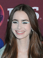 "08 April 2019 - New York, New York - Lily Collins at Times Talk with cast of ""LES MISERABLES"" at the Times Center. Photo Credit: LJ Fotos/AdMedia"