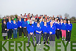 DRIVE IN; A large gathering of the Ardfert Club Golfers to watch the Capts of Ardfert Club House do the drive in on Sunday morning.....