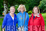 Ena Moloney, Mary Murphy, and Margaret Guerin at the James Cahill walk in aid of Kerry Mountain rescue in Muckross on Saturday