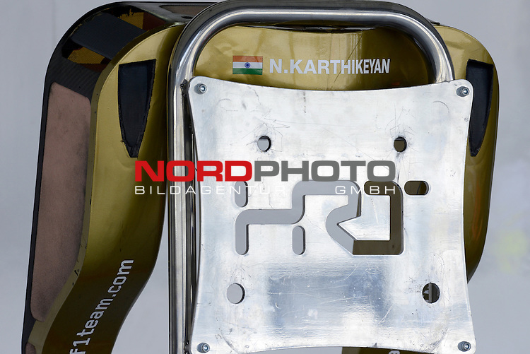 04. - 07.10.2012, Suzuka International Racing Course, Suzuka, JPN, F1, Grosser Preis von Japan, Suzuka, im Bild Narain Karthikeyan (IND), HRT Formula one Team <br />  Foto &copy; nph / Mathis