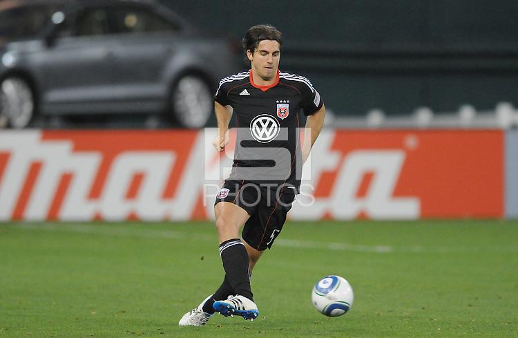 DC United defender Dejan Jakovic (5)    DC United tied The Colorado Rapids 1-1, at RFK Stadium, Saturday  May 14, 2011.