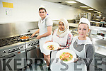 Students from KDYS youthreach LCA culinary cook competition at the Hotel Culinary arts department at the North campus IT Tralee. Pictured Patrick Gabco, Sherban Seif, cheyenne Cunningham