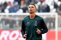 Cristiano Ronaldo of Juventus <br /> Torino 6-1-2020 Juventus Stadium <br /> Football Serie A 2019/2020 <br /> Juventus FC - Cagliari Calcio <br /> Photo Giuliano Marchisciano / Insidefoto