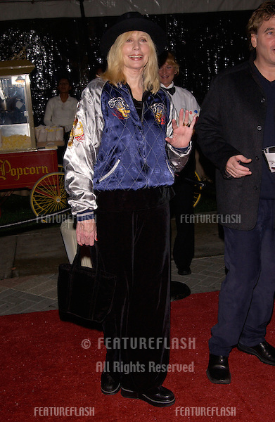 Actress SALLY KELLERMAN at the world premiere, in Hollywood, of Domestic Disturbance. .30OCT2001.  © Paul Smith/Featureflash
