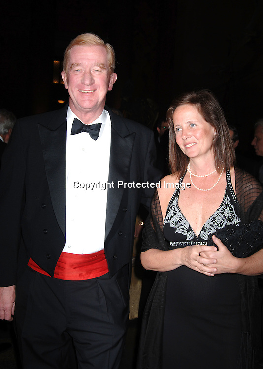 Governor William Weld and wife Leslie Marshall ..at The Pen American Center's 2006 Literary Gala on ..April 18, 2006 at The American Museum of Natural History. ..Robin Platzer, Twin Images