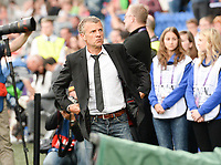 20170601 - CARDIFF , WALES : PSG's headcoach Patrice Lair pictured during a womensoccer match between the teams of  Olympique Lyonnais and PARIS SG, during the final of the Uefa Women Champions League 2016 - 2017 at the Cardiff City Stadium , Cardiff - Wales - United Kingdom , Thursday 1  June 2017 . PHOTO SPORTPIX.BE | DAVID CATRY