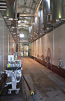 concrete vats cellulose pad filter chateau de nages rhone france