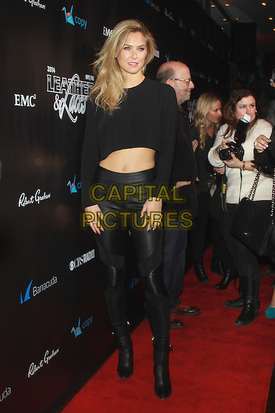NEW YORK, NY - JANUARY 31: Bar Refaeli at the 11th Annual 'Leather &amp; Laces' Party at The Liberty Theatre on January 31, 2014 in New York City.  <br /> CAP/MPI/RW<br /> &copy;RW/ MediaPunch/Capital Pictures