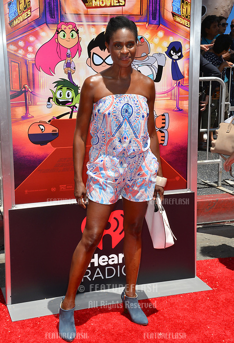 Adina Porter at the premiere for &quot;Teen Titans Go! to the Movies&quot; at the TCL Chinese Theatre, Los Angeles, USA 22 July 2018<br /> Picture: Paul Smith/Featureflash/SilverHub 0208 004 5359 sales@silverhubmedia.com