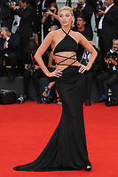 "VENICE, ITALY - AUGUST 28: Elsa Hosk walks the red carpet ahead of the Opening Ceremony and the ""La Verite"" (The Truth) screening during the 76th Venice Film Festival at Sala Grande on August 28, 2019 in Venice, Italy., 2019 in Venice, Italy. (Photo by Marck Cape/Inside Foto)<br /> Venezia 28/08/2019"