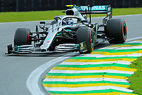 16th November 2019; Autodromo Jose Carlos Pace, Sao Paulo, Brazil; Formula One Brazil Grand Prix, Qualifying Day; Valtteri Bottas (FIN) Mercedes AMG F1 W10 - Editorial Use