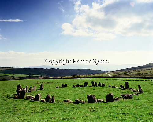 Swinside Stone Circle, Nr Broadgate, Broughton in Furness, Cumbria. England. Celtic Britain published by Orion.  The Lake District.