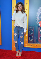 LOS ANGELES, CA. December 3, 2016: TV presenter Maria Menounos at the world premiere of &quot;Sing&quot; at the Microsoft Theatre LA Live.<br /> Picture: Paul Smith/Featureflash/SilverHub 0208 004 5359/ 07711 972644 Editors@silverhubmedia.com