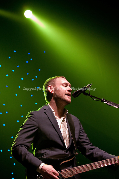 David Gray live concert at Nokia Theatre on March 16, 2010 in Grand Prairie, TX.