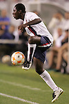 13 March 2008: Freddy Adu (USA) (11). The United States U-23 Men's National Team defeated the Panama U-23 Men's National Team 1-0 at Raymond James Stadium in Tampa, FL in a Group A game during the 2008 CONCACAF's Men's Olympic Qualifying Tournament.