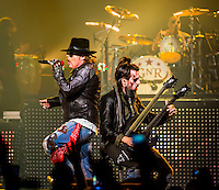 LAS VEGAS, NV - October 31: Guns N' Roses kick off Residency show,  Appetite for Democracy at The Joint at Hard Rock Hotel & Casino October 31, 2012 in Las Vegas, Nevada.   Photo By: Kabik/Starlitepics/MediaPunch Inc. /NortePhoto