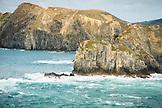NEW ZEALAND, Picton, Exiting Cook Strait, Ben M Thomas