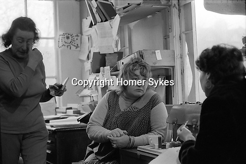 Erin Pizzey. Chiswick Women Aid Shelter for Battered Women. Richmond  London England 1975