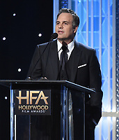 BEVERLY HILLS - NOVEMBER 3: Mark Ruffalo appears onstage at the 2019 Hollywood Film Awards at the Beverly Hilton on November 3, 2019 in Beverly Hills, California. (Photo by Frank Micelotta/PictureGroup)