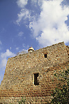 Israel, Lower Galilee, the remains of Dhaher al-Omar's castle in Deir Hanna