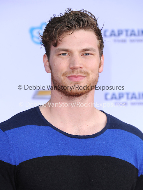 Derek Theller attends The Marvel World Premiere of Captain America; The Winter Soldier held at The El Capitan in Hollywood, California on March 13,2014                                                                               © 2014 Hollywood Press Agency