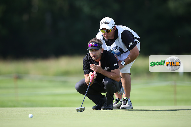Intense concentration from Jbe Kruger (RSA) during Round One of the 2015 BMW International Open at Golfclub Munchen Eichenried, Eichenried, Munich, Germany. 25/06/2015. Picture David Lloyd | www.golffile.ie