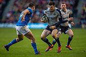 2nd February 2019, Murrayfield Stadium, Edinburgh, Scotland; Guinness Six Nations Rugby Championship, Scotland versus Italy; Chris Harris of Scotland