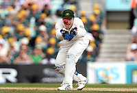 Brad Haddin of Australia - England vs Australia - 5th day of the 5th Investec Ashes Test match at The Kia Oval, London - 25/08/13 - MANDATORY CREDIT: Rob Newell/TGSPHOTO - Self billing applies where appropriate - 0845 094 6026 - contact@tgsphoto.co.uk - NO UNPAID USE