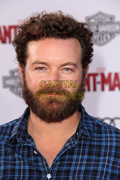 HOLLYWOOD, CA - JUNE 29: Danny Masterson at the premiere of Marvel's 'Ant-Man' at the Dolby Theatre on June 29, 2015 in Hollywood, California. <br /> CAP/MPI/DC/DE<br /> &copy;DE/DC/MPI/Capital Pictures