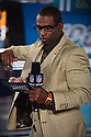MIAMI, FL - JANUARY 27: Deion Sanders during the NFL Super Bowl ( LIV)(54) Opening Night at Marlins Park on January 27, 2020  in Miami, Florida. ( Photo by Johnny Louis / jlnphotography.com )