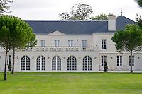 In the garden. Chateau Malartic Lagraviere, Pessac Leognan, Graves, Bordeaux, France