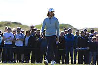 Tommy Fleetwood (ENG) on the 4th green during Round 4 of the Betfred British Masters 2019 at Hillside Golf Club, Southport, Lancashire, England. 12/05/19<br /> <br /> Picture: Thos Caffrey / Golffile<br /> <br /> All photos usage must carry mandatory copyright credit (© Golffile | Thos Caffrey)