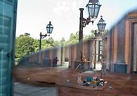 Monza, Villa Reale. Lavori di restauro --- Monza, Royal Villa. Restoration work