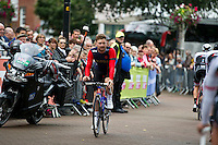 2016 Tour of Britain<br /> Stage 2, Carlisle to Kendal<br /> 5 September 2016<br /> Owain Doull, Team Wiggins