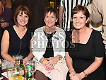 Katherine and Sharon Fogarty and Siobhan Mooney at the Slane GFC awards night in Stackallen Tennis Club. Photo:Colin Bell/pressphotos.ie