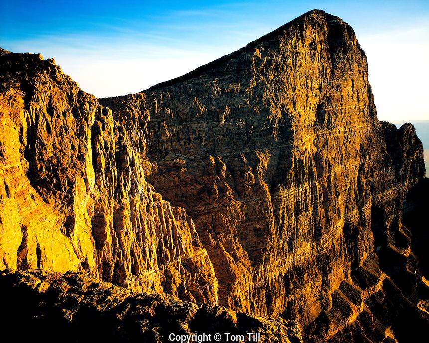 Notch Peak Cliffs, House Range Wilderness Study Area, Utah    Huge limestone cliff--one of the West's largest     Utah West Desert