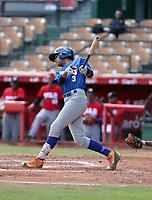 Gabriel Rodriguez participates in the MLB International Showcase at Estadio Quisqeya on February 22-23, 2017 in Santo Domingo, Dominican Republic.