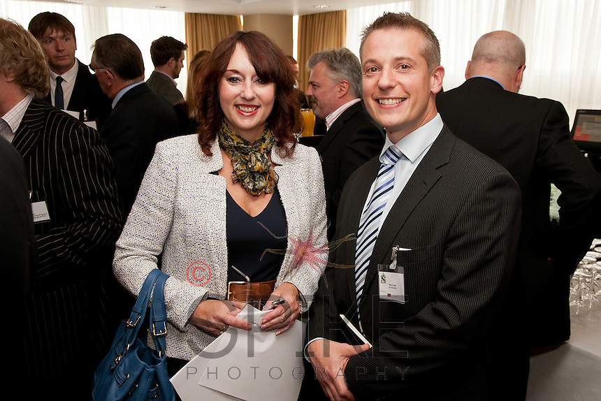 Tracey Gretton of Martin Smalley & Co and William Slater G2 Innovation