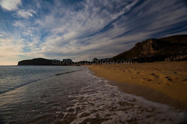 Beautiful Falassarna Beach, Crete