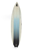 "COPY BY TOM BEDFORD<br /> Pictured: A custom made surf board from the film Point Break once belonged to actor Patrick Swayze that was sold at auction<br /> Re: The iconic black leather jacket worn by Patrick Swayze in the hit film Dirty Dancing has sold for $50,000 (£38,612) at auction.<br /> It was bought by a fan after the tragic actor's wife decided to sell his movie memorabilia. <br /> The jacket had a reserve of just $6,000(£4,630) at the auction in Los Angeles but an internet bid of $25,000(£19,300) was received before the auction started.<br /> The salesroom erupted with applause when the hammer came down at $50,000.<br /> Auctioneer Darren Julien said: ""We always knew it would fetch big bucks.<br /> ""The jacket is the holy grail for Patrick Swayze fans and there are a lot out there.""  <br /> The heart throb actor wore the James Dean-style jacket throughout Dirty Dancing including the  scene where he says: ""Nobody puts Baby in a corner"".<br /> The jacket belonged to Swayze before the movie was made in 1987.<br /> Dirty Dancing was a low-budget movie and most of the clothes Swayze's wore were his own, including the leather jacket.<br /> Mr Julien said: ""Because it was his jacket he got to keep it after the movie and wore it whenever he felt like it."