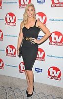 Gemma Atkinson at the TV Choice Awards 2018, The Dorchester Hotel, Park Lane, London, England, UK, on Monday 10 September 2018.<br /> CAP/CAN<br /> &copy;CAN/Capital Pictures