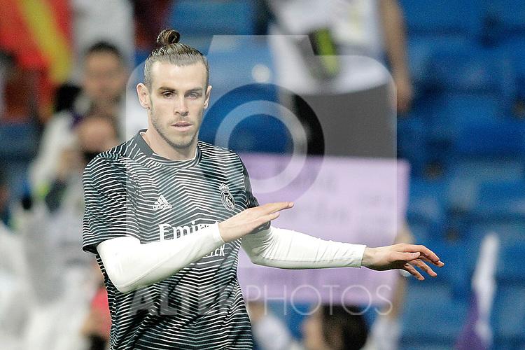 Real Madrid CF's Gareth Bale during La Liga match. March 02,2019. (ALTERPHOTOS/Alconada)